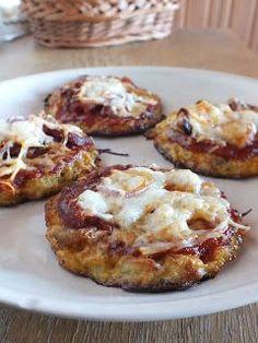 Ízőrző: Lisztmentes mini pizzák Winter Food, Baked Potato, Potatoes, Baking, Mini, Ethnic Recipes, Health, Bread Making, Salud