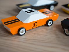 9 Nifty Kickstarter Designs That You Can Buy Right Now | MO-TO CarsThese wooden toy cars are delightfully low-tech. Crafted from beech wood and hand painted, the handsome, boxy shape of 1960s automobiles make them feel classic. It�s the type of toy your kid will play with and maybe even your kid�s kid. Race car, $30  MoMA Store/Kickstarter  | WIRED.com