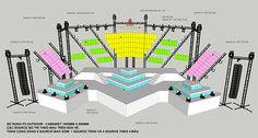 Stage Lighting Design, Stage Set Design, Set Design Theatre, Lighting Concepts, Booth Design, Event Design, Exhibition Stand Design, Exhibition Booth, Royal Ballet