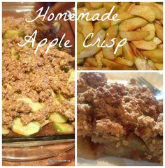 Honey and Oatmeal Apple Crisp  [http://www.untrainedhousewife.com/apple-crisp-oatmeal-recipe] Add walnuts