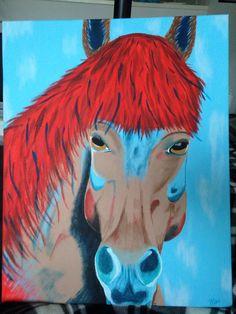 #PinkyArt #Ijsland horse