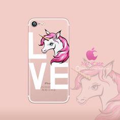 LOVE Unicorn iPhone 6 6S Case Cute