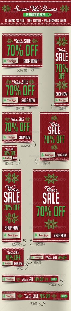 Sweater Web Banners Template PSD | Buy and Download: http://graphicriver.net/item/sweater-web-banners/6254327?WT.ac=category_thumb&WT.z_author=pixel_lady&ref=ksioks