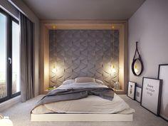 Czy ścianka za łóżkiem to tapeta. a jeśli tak gdzie mogłabym taka zakupić? - Homebook.pl