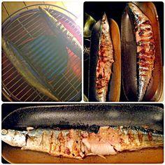 もうー!!さんま?!?! いいなー〜美味しそー!!!  誰かーー!炭にひーつけてーー!! - 87件のもぐもぐ - Charcoal-grilled Pacific saury炭火焼秋刀魚 by Ami