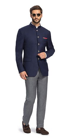 Make a style statement with our wide range of customized ethnic wear for men. View finely tailored custom made sherwani, bandhgala jacket and more at Herringbone & Sui. Mens Indian Wear, Indian Groom Wear, Indian Men Fashion, Mens Fashion Wear, Mens Ethnic Wear, Men's Fashion, Wedding Dresses Men Indian, Wedding Dress Men, Wedding Wear