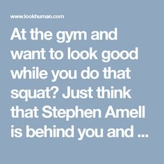 At the gym and want to look good while you do that squat? Just think that Stephen Amell is behind you and he's watching that booty. Hit the gym, train hard, and with enough squats the next person that could be staring at you is the star of a hit tv show. Always remember with this shirt to 'Squat Like Stephen Amell Is Watching'