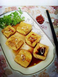 Marinated Tofu with Aromatic Vinegar