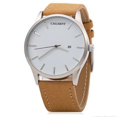 CAGARNY 6850 Business Style Male Quartz Watch with Big Dial ca7cfc4cb966