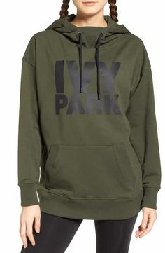 Shop Ivy Park Logo Hoodie from stores. Comfortable Outfits, Casual Outfits, Fashion Outfits, Dope Outfits, Women's Fashion, Ivy Park Clothing, High End Clothing Brands, Sport Outfit, Sport Wear