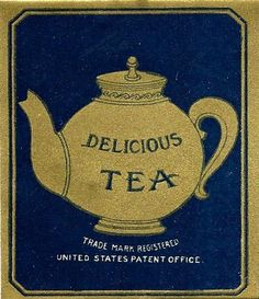 Vintage tea label pinned by Keva xo. Tea Labels, Food Labels, Tea Plant, Alice Tea Party, Tea Tins, Tea Packaging, Tea Cozy, Tea Service, My Cup Of Tea