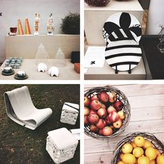 Chic decor on Swedish blog SIMPLY. #Style