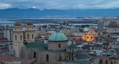 Cagliari, on the island of Sardinia, is a lively city steeped in history.