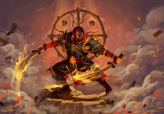 Dota 2 - Ember Spirit by fantazyme on DeviantArt