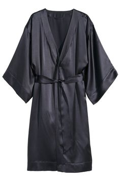 The Coziest Robes To Get Your #LazyGirl On #refinery29  http://www.refinery29.com/bathrobes#slide13  The feeling of silk on your skin is pretty irresistible.