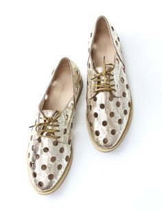 Rachel Comey | Acker Brogue in golden caramel