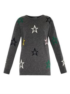 Star-intarsia sweater | Chinti and Parker | MATCHESFASHION.COM