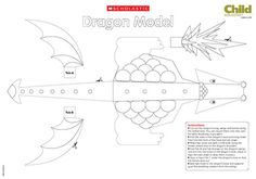 Build-a-dragon poster (black and white version) Castles Ks1, Castles Topic, Art Handouts, Continuous Provision, National Days, Craft Party, Dungeons And Dragons, Knights, Homeschooling