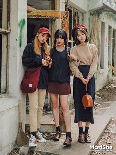 Korean Similar Fashion - Official Korean Fashion K Fashion, Korean Girl Fashion, Korean Fashion Trends, Ulzzang Fashion, Korean Street Fashion, Korea Fashion, Japanese Fashion, Asian Fashion, Fashion Photo