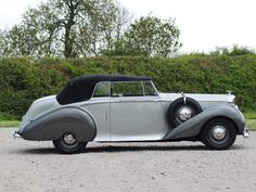 1949 Bentley Mark VI Drophead Coupe