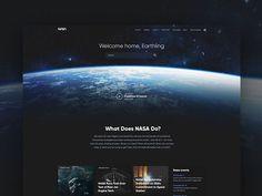 NASA website redesign