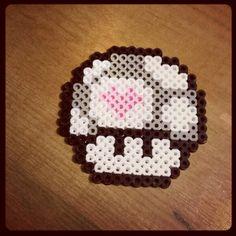 Companion Cube Perler Beads by sharann hansen