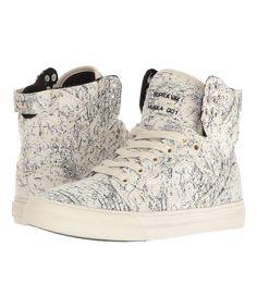 9c96f50d2c SUPRA White   Black Skytop Hi-Top Sneaker - Women. Supra ShoesSupra ...