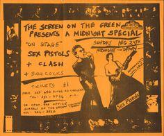 1976 sex pistols concerts