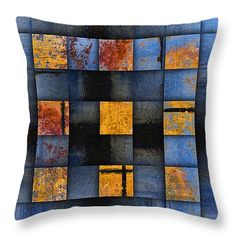 """Autumn Reflections Throw Pillow 14"""" x 14"""" by @caroleigh2013 on Fine Art America $32.00"""