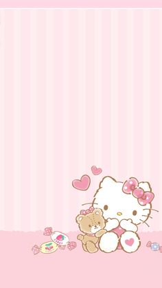 ideas for birthday wallpaper backgrounds hello kitty Hello Kitty Iphone Wallpaper, Hello Kitty Backgrounds, Sanrio Wallpaper, Kawaii Wallpaper, Wallpaper Iphone Cute, Wallpaper Backgrounds, Wallpaper Stickers, Baby Wallpaper, Mobile Wallpaper
