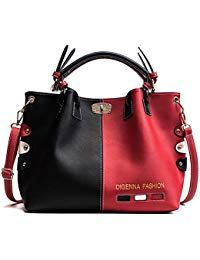 4a883096f81b Women s PU Leather Large Handbags - Elegant Ladies Shoulder Bags Classic Tote  Bags - Cross-Body Bags Stylish Bags - Top-Handle Bags Messenger Bag