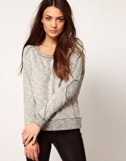 Doda Sweat Top - Selected - New Fashioned