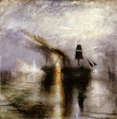 https://flic.kr/p/xKghNN | Joseph Mallord William Turner - Peace, Burial at Sea [1842] | Peace shows the burial at sea of Turner's friend, the artist David Wilkie. [Tate, London - Oil on canvas, 87 x 86.7 cm]