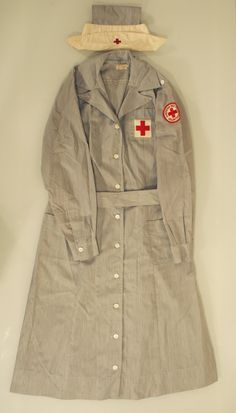 1940s Red Cross Nurse's Uniform