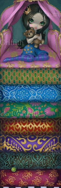 """""""The Princess and the Pea"""" by Jasmine Beckett-Griffith"""