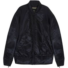 YEEZY Bomber Jacket ($2,328) ❤ liked on Polyvore featuring mens, men's clothing, men's outerwear and men's jackets