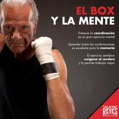 El box y la mente. #TeamCletoReyes #CletoReyes #health #senior #workout #training #box #boxing #gloves
