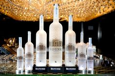 Collection of classic belvedere bottle. High quality packaging, beautiful view of bottle. Cocktail Drinks, Alcoholic Drinks, Cocktails, Belvedere Vodka, The Best Vodka, Fru Fru, Romantic Images, Distillery, Wine Recipes