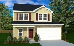 Craftsman-style home built by Mungo Homes in Lake Carolina.  http://www.lakecarolina.com/details.aspx?hid=947#