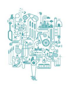 Blue Edition : Artcrank 2010 : Basemint Design $30