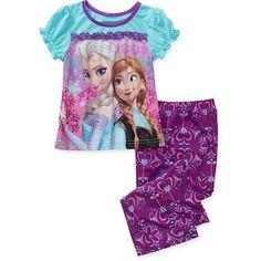 Disney Girls Pajama Set Frozen Anna Elsa Snow Flake 2 pieces Kids size 4 NEW  16.99 free us shipping http://www.ebay.com/itm/Disney-Girls-Pajama-Set-Frozen-Anna-Elsa-Snow-Flake-2-pieces-Kids-size-4-NEW-/332279567921?ssPageName=STRK:MESE:IT