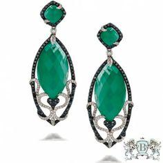 Doves Emerald Dreams Earrings E5888BGA