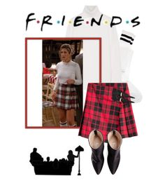 """F.R.I.E.N.D.S"" by heloisacintrao ❤ liked on Polyvore featuring ASOS, Equipment, Burberry and Vetements"