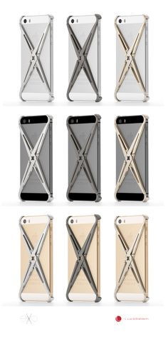 Lucidream eXo iPhone Cases look amazing on the white, black or Champagne iPhone, just totally different feels with the different combinations.