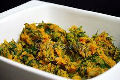 Terapia do Tacho: Esmagada de batata doce com couve e limão (Sweet potato mash…