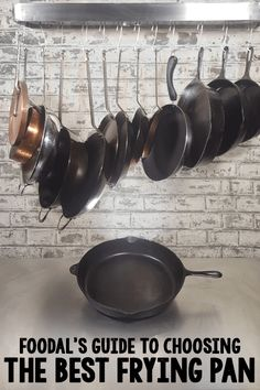 Cast iron, stainless steel, or nonstick? With so much variety, buying a new fry pan or skillet is a tedious exercise. So, we've made choosing easy for you. Cast iron, stainless steel, or nonstick? With so much variety, buying a new fry pan or skillet is a tedious exercise. So, we've made choosing easy for you. http://foodal.com/kitchen/pots-pots-skillets-guides-reviews/guides/best-frying-pans/