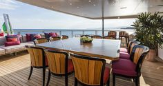 Luxury Yachts Dealer for Middle East & North Africa Conference Room, Yachts, Table, Furniture, Home Decor, Decoration Home, Room Decor, Tables, Home Furnishings