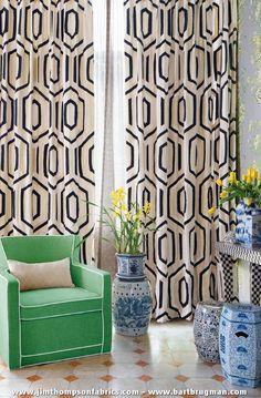 JIM THOMPSON's fabrics & trimmings collection 'Bonzai of the Vanities' (january 2016) - www.jimthompsonfabrics.com - www.bartbrugman.com
