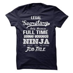 Legal Secretary Ninja Tshirt T Shirt, Hoodie, Sweatshirt