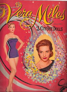 Vera Miles Paper Dolls by Pennelainer, via Flickr